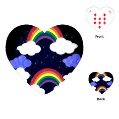 Rainbow Animation Playing Cards (Heart)