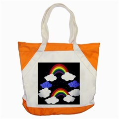 Rainbow Animation Accent Tote Bag