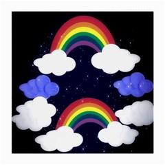 Rainbow Animation Medium Glasses Cloth