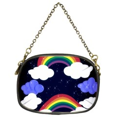 Rainbow Animation Chain Purses (one Side)