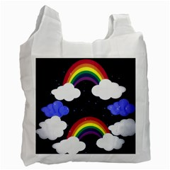 Rainbow Animation Recycle Bag (two Side)
