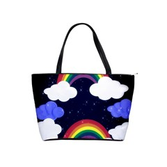 Rainbow Animation Shoulder Handbags