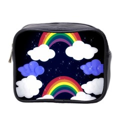 Rainbow Animation Mini Toiletries Bag 2-Side