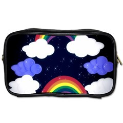 Rainbow Animation Toiletries Bags