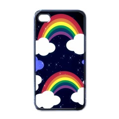 Rainbow Animation Apple Iphone 4 Case (black)