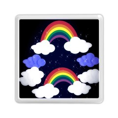 Rainbow Animation Memory Card Reader (Square)