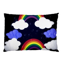 Rainbow Animation Pillow Case (Two Sides)