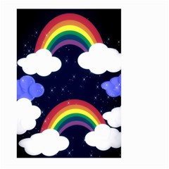 Rainbow Animation Large Garden Flag (Two Sides)