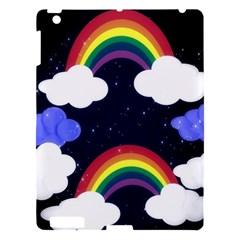 Rainbow Animation Apple iPad 3/4 Hardshell Case