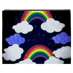 Rainbow Animation Cosmetic Bag (xxxl)