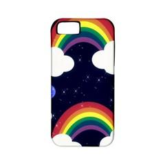 Rainbow Animation Apple Iphone 5 Classic Hardshell Case (pc+silicone)