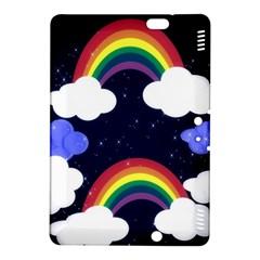 Rainbow Animation Kindle Fire HDX 8.9  Hardshell Case