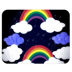 Rainbow Animation Double Sided Flano Blanket (Medium)