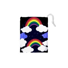 Rainbow Animation Drawstring Pouches (xs)