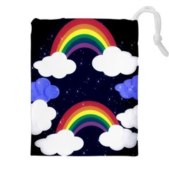 Rainbow Animation Drawstring Pouches (xxl)