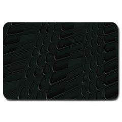 Abstract Clutter Large Doormat