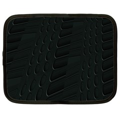 Abstract Clutter Netbook Case (Large)