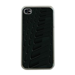 Abstract Clutter Apple Iphone 4 Case (clear)