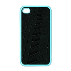 Abstract Clutter Apple iPhone 4 Case (Color)
