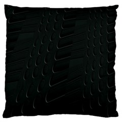 Abstract Clutter Large Cushion Case (Two Sides)
