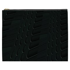 Abstract Clutter Cosmetic Bag (XXXL)
