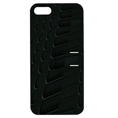 Abstract Clutter Apple Iphone 5 Hardshell Case With Stand