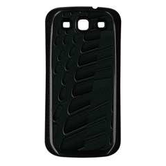 Abstract Clutter Samsung Galaxy S3 Back Case (black)