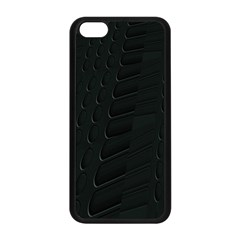 Abstract Clutter Apple iPhone 5C Seamless Case (Black)