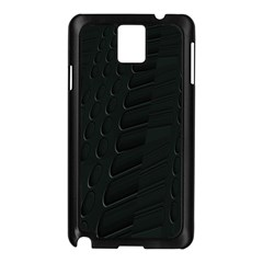 Abstract Clutter Samsung Galaxy Note 3 N9005 Case (Black)