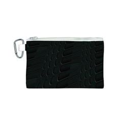 Abstract Clutter Canvas Cosmetic Bag (s)
