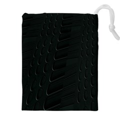 Abstract Clutter Drawstring Pouches (XXL)