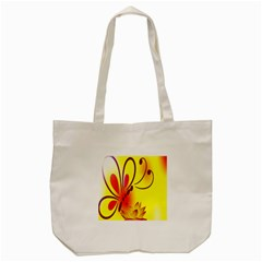 Butterfly Background Wallpaper Texture Tote Bag (Cream)