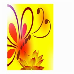 Butterfly Background Wallpaper Texture Small Garden Flag (Two Sides)