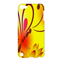Butterfly Background Wallpaper Texture Apple Ipod Touch 5 Hardshell Case
