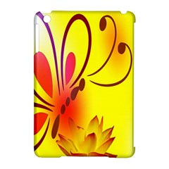 Butterfly Background Wallpaper Texture Apple Ipad Mini Hardshell Case (compatible With Smart Cover)