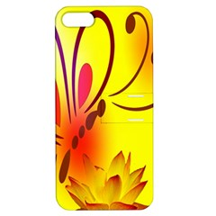 Butterfly Background Wallpaper Texture Apple iPhone 5 Hardshell Case with Stand