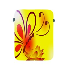 Butterfly Background Wallpaper Texture Apple iPad 2/3/4 Protective Soft Cases
