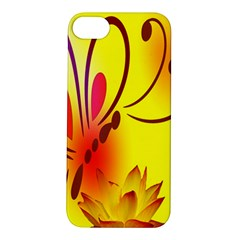 Butterfly Background Wallpaper Texture Apple iPhone 5S/ SE Hardshell Case