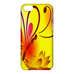Butterfly Background Wallpaper Texture Apple iPhone 5C Hardshell Case