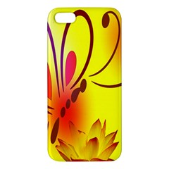 Butterfly Background Wallpaper Texture Iphone 5s/ Se Premium Hardshell Case