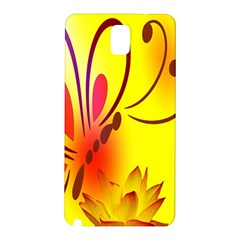 Butterfly Background Wallpaper Texture Samsung Galaxy Note 3 N9005 Hardshell Back Case