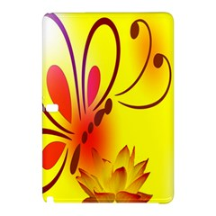 Butterfly Background Wallpaper Texture Samsung Galaxy Tab Pro 12.2 Hardshell Case