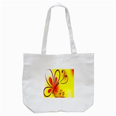 Butterfly Background Wallpaper Texture Tote Bag (white)