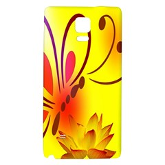 Butterfly Background Wallpaper Texture Galaxy Note 4 Back Case