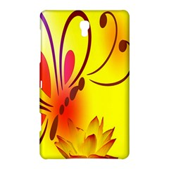 Butterfly Background Wallpaper Texture Samsung Galaxy Tab S (8 4 ) Hardshell Case