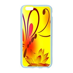 Butterfly Background Wallpaper Texture Apple Seamless iPhone 6/6S Case (Color)