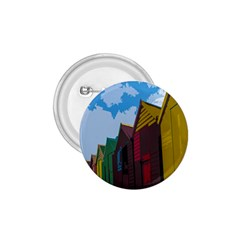 Brightly Colored Dressing Huts 1.75  Buttons