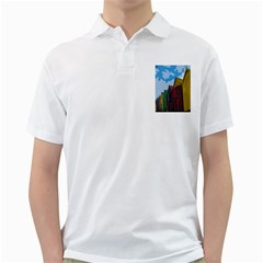 Brightly Colored Dressing Huts Golf Shirts