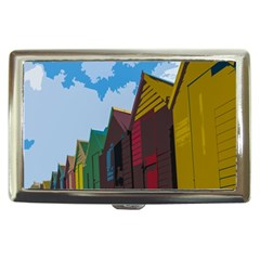 Brightly Colored Dressing Huts Cigarette Money Cases