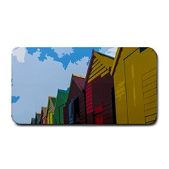Brightly Colored Dressing Huts Medium Bar Mats